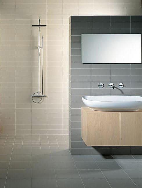 Salle de bain douche italienne mv carrelage gembloux for Materiaux salle de bain